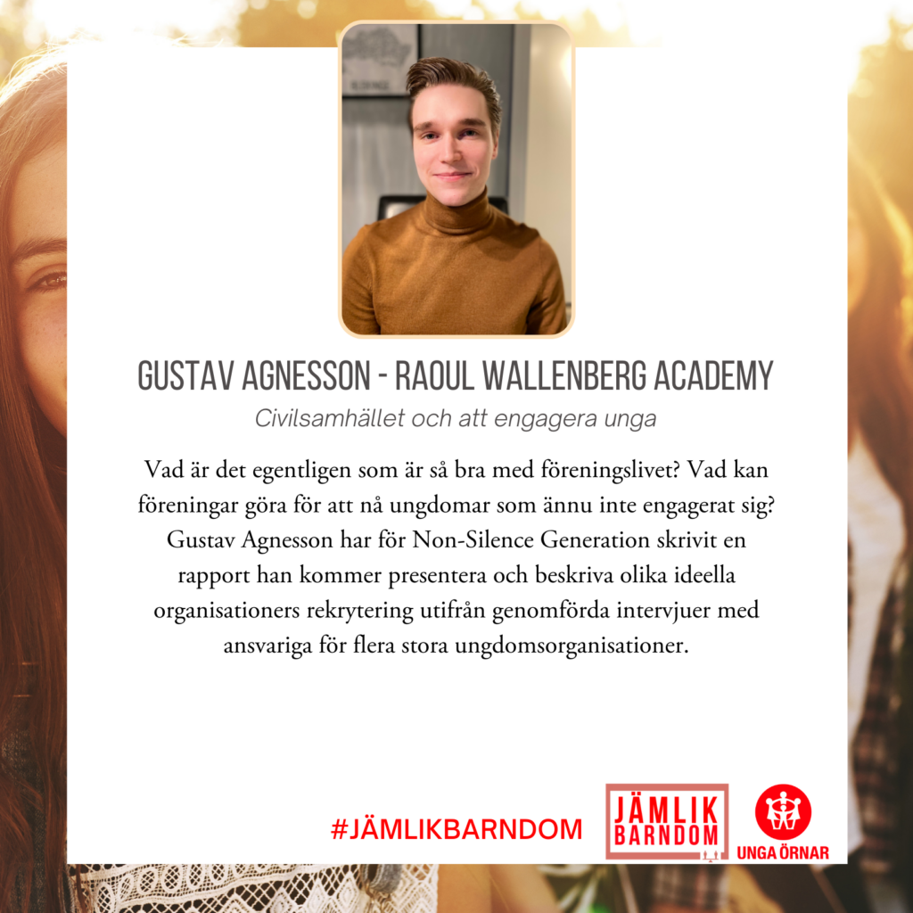 Gustav Agnesson - Raoul Wallenberg Academy