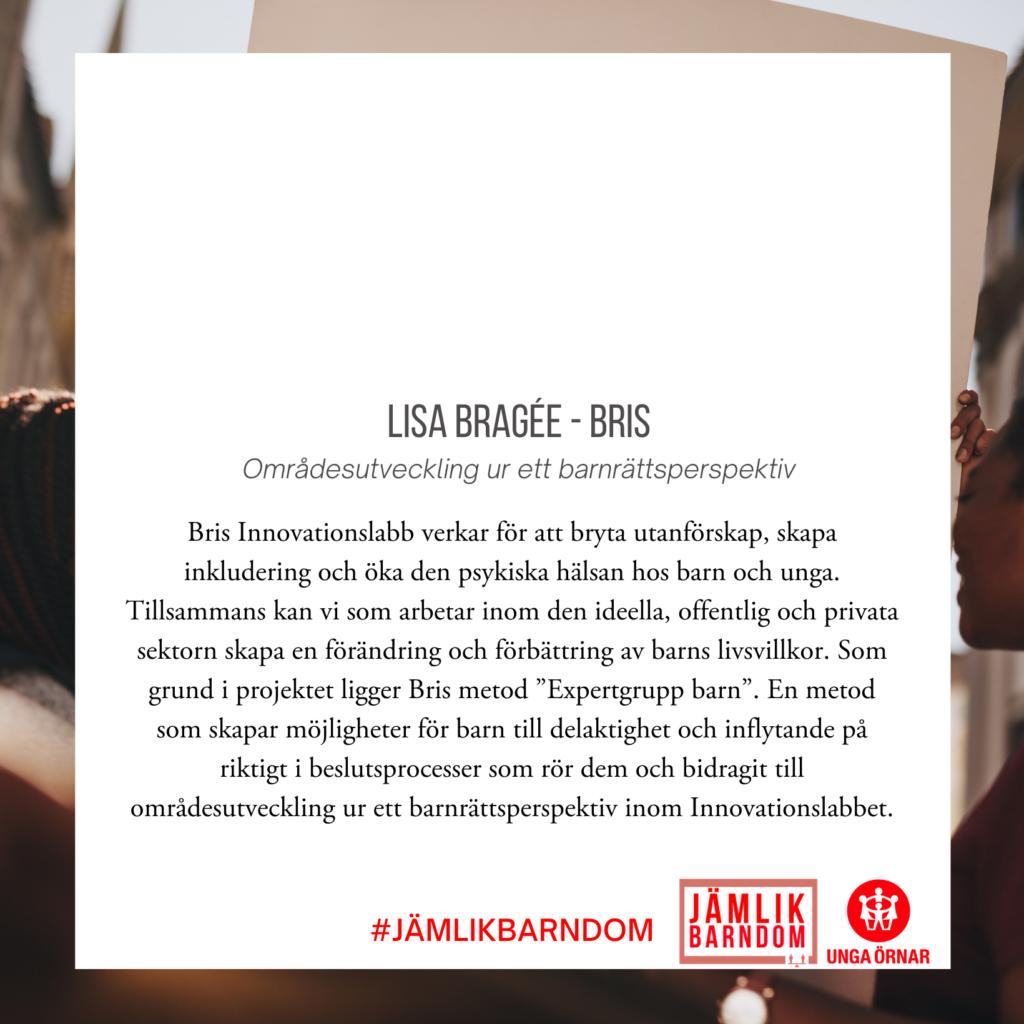 Lisa Bragée - BRIS
